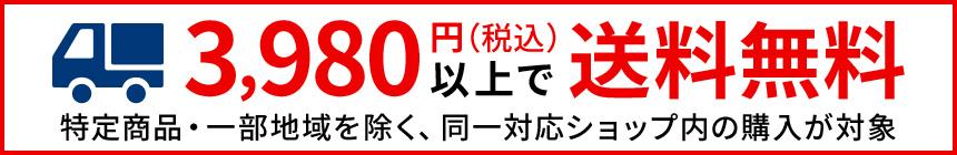 3980円(税込)以上送料無料