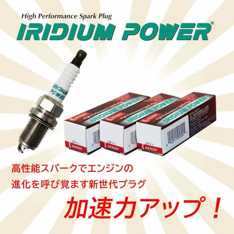 イリジウムパワー 高性能スパークでエンジンの進化を呼び覚ます新世代プラグ 加速力アップ!